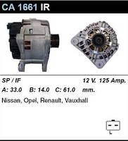 Генератор восст. /125A/ Opel Movano, Vivaro, Reanult Laguna, Master,Trafic 1,8-2,5 hdi,dci,tdi