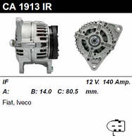 Генератор восст. /140A/ Iveco 3.0 Diesel