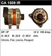 Генератор восст. /150A/ Citroen Berlingo, Fiat Scudo 2,0HDI