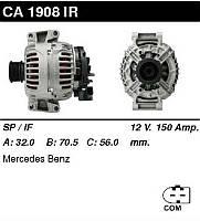 Генератор восст. /150A/ Mercedes W203, W211 2,3-3,5 07- Sprinter 06-