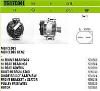 Генератор восст. /180A/ Mercedes Sprinter 2,2 CDI 06-