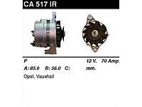 Генератор восст. /70A/ Opel Astra 91-98, Frontera 92-98, Kadett 86-91, Omega 1,8-2,0 91