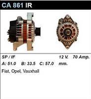 Генератор восст. /70A/ Opel Astra F , Corsa B, Omega B