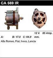 Генератор восст. /85A/ Fiat Croma 2,5 TD