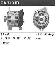 Генератор восст. /90A/ Citroen Jumper, Peugeot Boxer 2,5D 94-02
