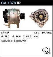 Генератор восст. /90A/ VW Golf4, Skoda Octavia, Audi A3, TT, VW Bora 1,8-2,0 20V, 1,8T