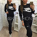 Женский теплый костюм на флисе: Nike (2 цвета), фото 2