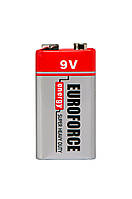 Батарейка крона 9V EUROFORCE 6F22
