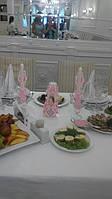 Набор свадебный с табличкой розового цвета в тон свадьбы 1