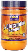 L-глютамин, Now Foods, Спорт, порошок, 0,5 кг, фото 1