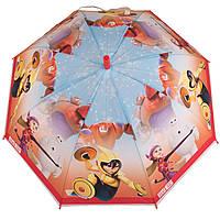 Детский силиконовый зонт-трость D 59 big hero red
