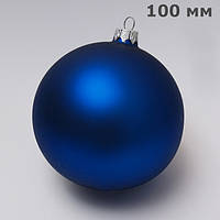 Куля новорічна ялинкова скляна d100 мм під логотип