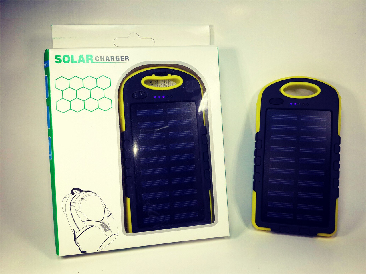 Power Bank 8000 + LED 12 ( Yellow )
