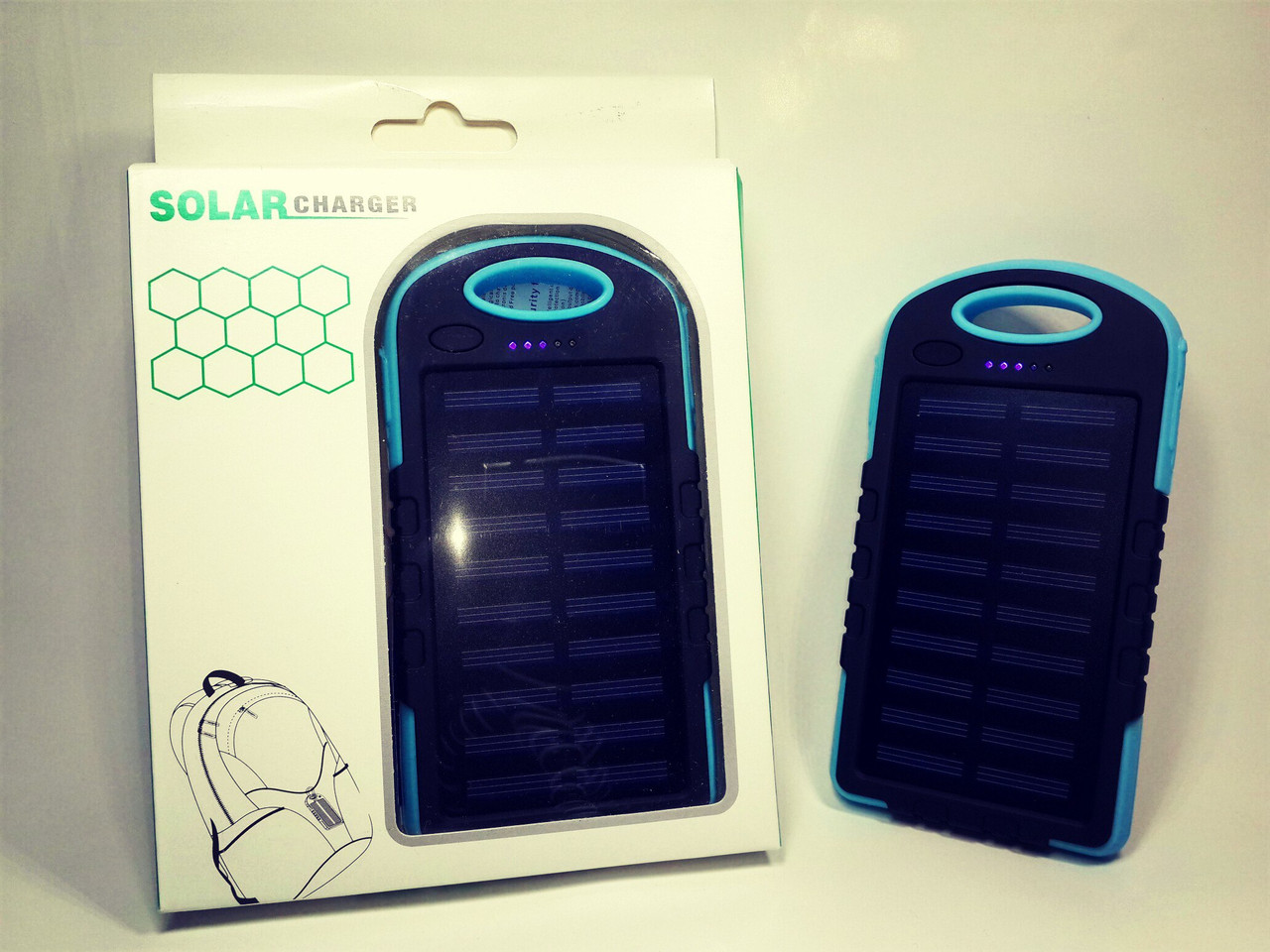 Power Bank 8000 + LED 12 ( Blue )
