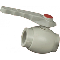 Кран PP-R шаровой для воды d40 (Чехия), FV-Plast