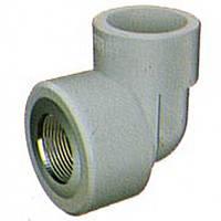 Колено трубы ВП—ВР с резьбовым соединением 20*3/4 (BC20F2), FV-Plast