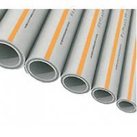 Труба армированная PP-RCT FASER HOT— Диаметр (d) 110 мм - Толщина стенки 12,3 мм — FV-Plast (Чехия)