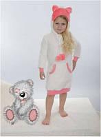 Сорочка, ночная рубашка детская теплая флис для девочки Wiktoria W 172