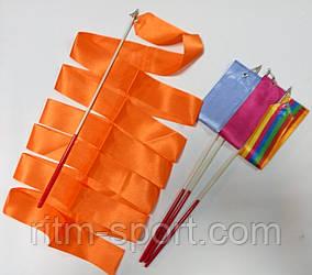 Лента для художественной гимнастики 4 м, палочка 47 см