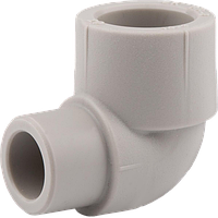 Колено для полипропиленовых труб 90' Н—В 20 (50/250), Wavin