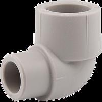 Колено для полипропиленовых труб 90' Н—В 32 (25/100), Wavin