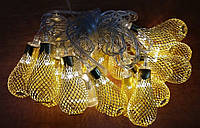 Электро-гирлянда 20L с насадкой «Золотая груша» на 20 светодиодов