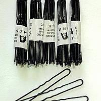 Шпилька для волос черная 6см. В упаковке 500 шт. Цена 1шт - 19коп.