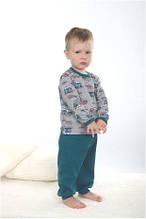 Пижама детская для мальчика польская зимняя хлопок Wiktoria W 173