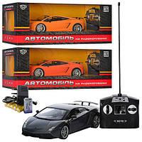 Машина M 2346 U/R, радиоуправление, свет, резиновые колеса, аккумулятор, 3 цвета, в коробке 46*19*22 см