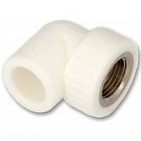 Колено для канализации с внутренней резьбой (ВР) 20х1/2 (25/125), Kalde