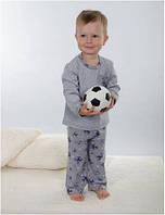 Пижама детская для мальчика польская зимняя хлопковая Wiktoria W 174