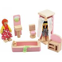 Игрушка деревянная Мебель-ванная РУДИ