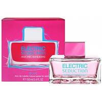Antonio Banderas Electric Blue Seduction For Women 100