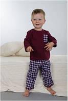 Пижама детская для мальчика подростковая зимняя хлопок Wiktoria W 176