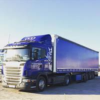Тент на полуприцеп Scania