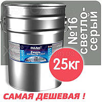 Декарт Dekart Краска-Эмаль ПФ-115 Светло-серая №16 25кг