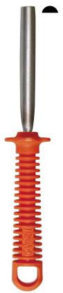 Напильник абразивный, полукруглый для заточки секаторов и ножниц (L=76 мм)