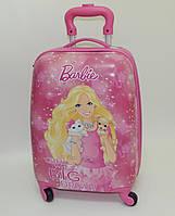 """Детский чемодан дорожный """"Josef Otten"""" Барби 2,  Вarbie 2 на четырех колесах 520312"""