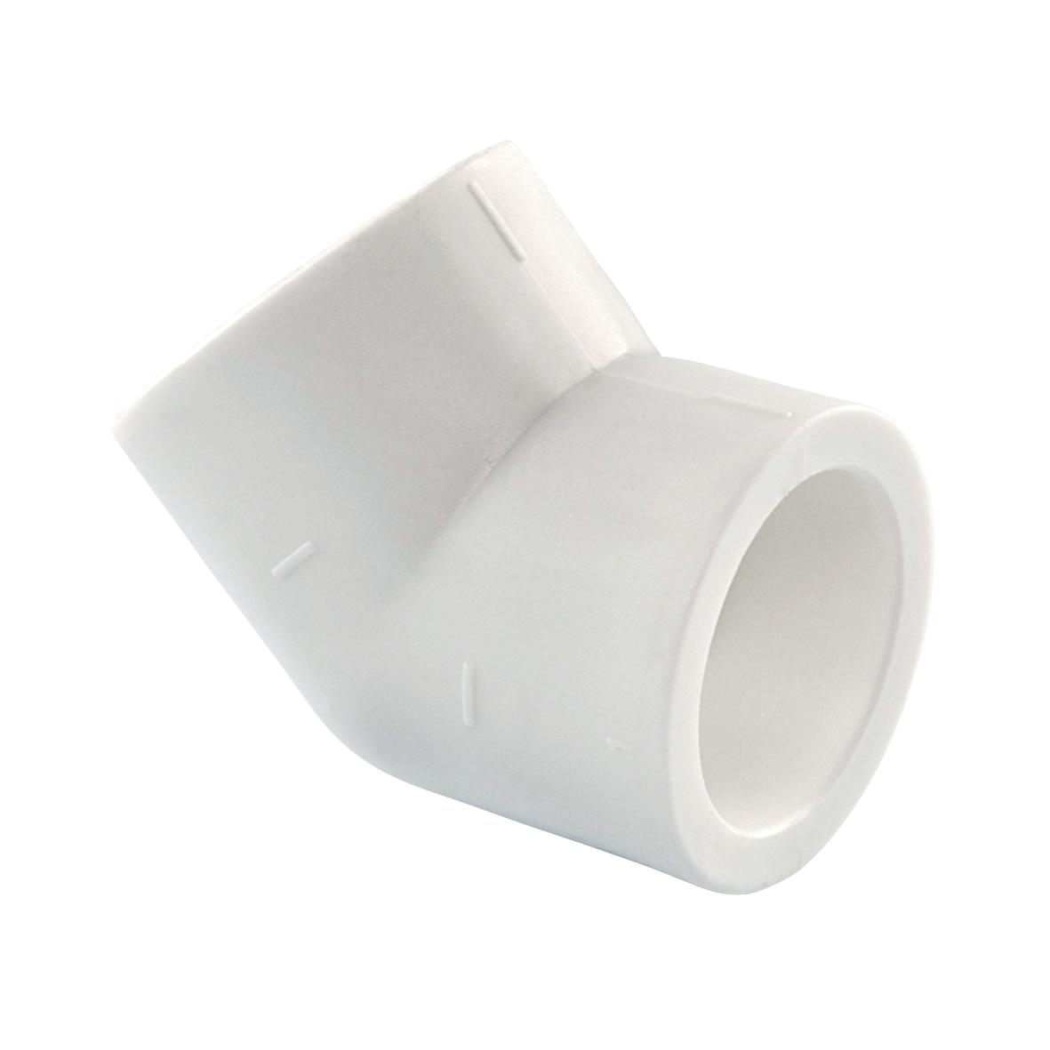 Угол полипропилен для труб 45 — 25, KLD