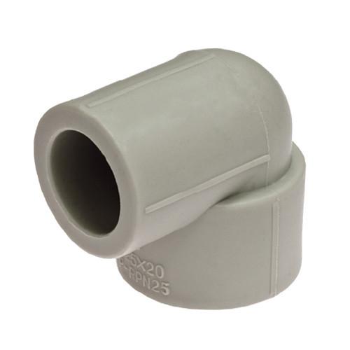 Кут поліпропілен для труб 90 перехідний — 20, KLD