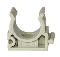 Клипса для труб — 40, KLD