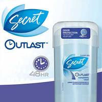 Дезодорант Secret Outlast Xtend Completely Clean Clear Gel Antiperspirant/Deodorant свежий
