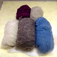 Шерсть овечья мытая (кардочес) от производителя