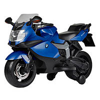 Электромобиль-мотоцикл Bambi BMW 1300s Синий (Z 283-4)