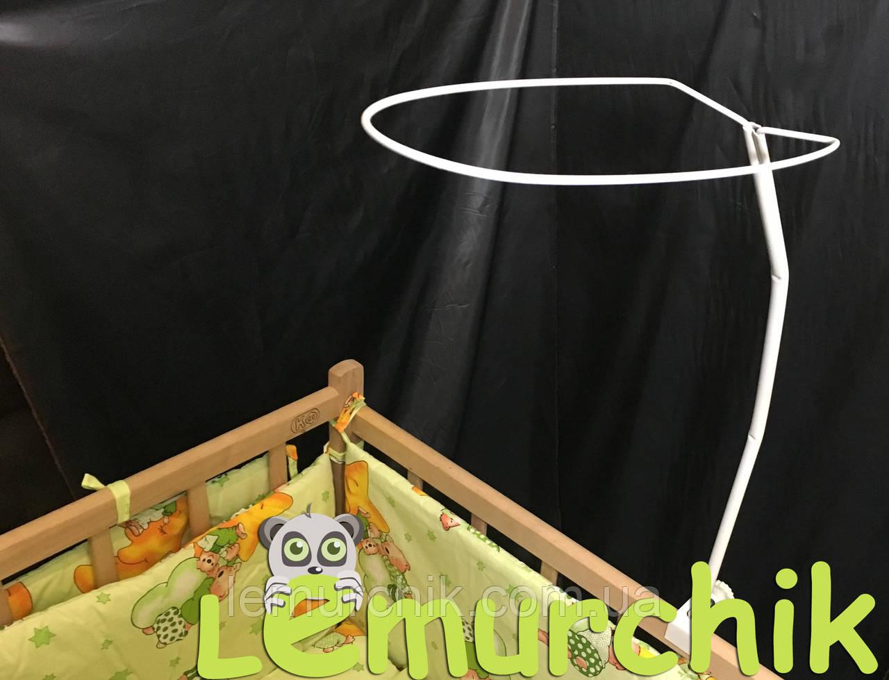 Тримач для балдахіна (опора, кріплення) на будь-яку ліжко