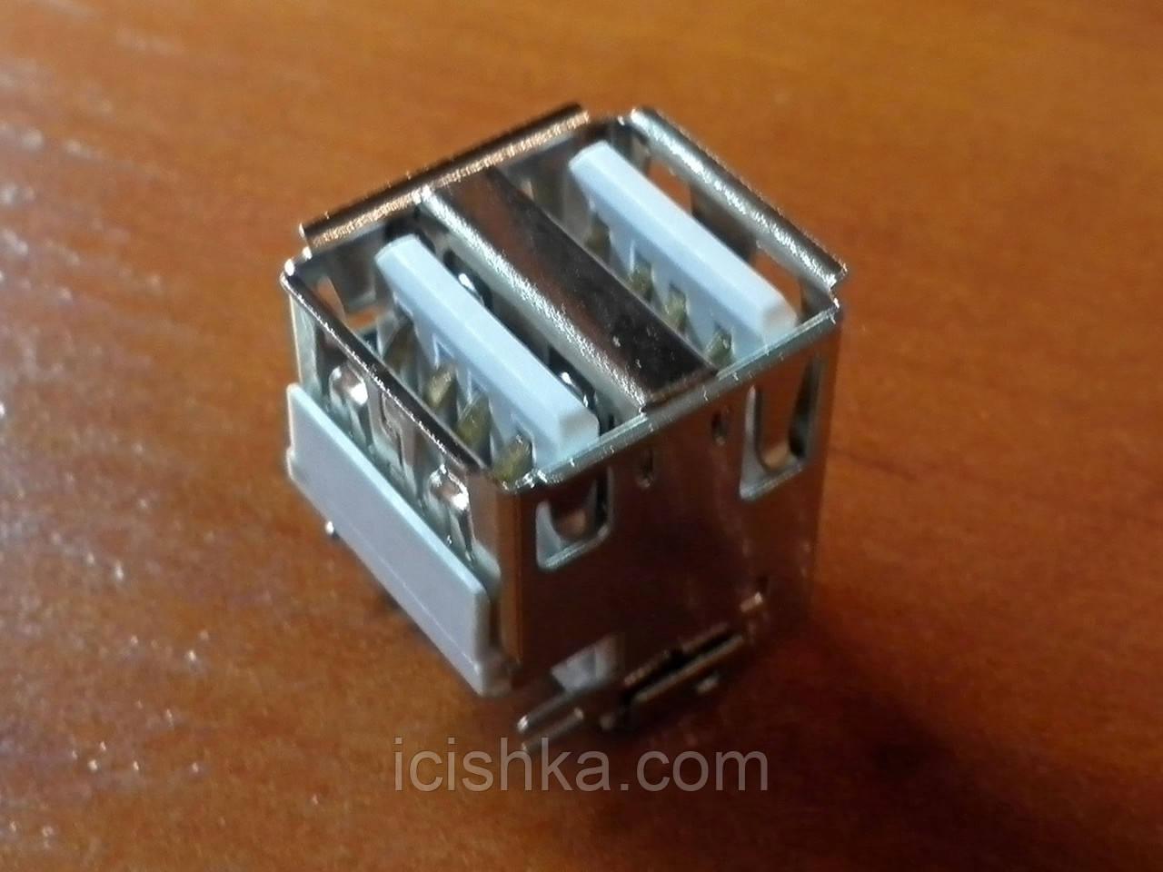 Double USB A Female - двойной юсб коннектор разъем