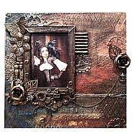 Фоторамка в стиле лофт Подарок девушке женщине Ручная работа, фото 1