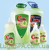Жидкое крем-мыло с глицерином «Алоэ» Clime,  0,4л. (дозатор)