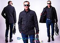 Мужская куртка Ромб замки норма-батал