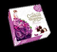 Набор конфет Сладкий подарок лиловый